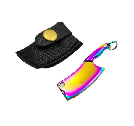 The Hash Grinder Company® - EX® blade in sleeve - G-Rasp line - Mini blade for Hash and Weed - in colored steel